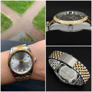 Unisex Armbanduhr aus Chirurgenstahl (ganz neu)