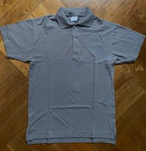 American Apparel Camiseta tipo polo gris