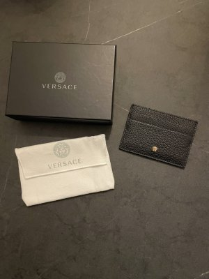 Versace Kaartetui zwart-goud