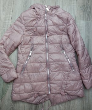 Unisono Quilted Jacket dusky pink