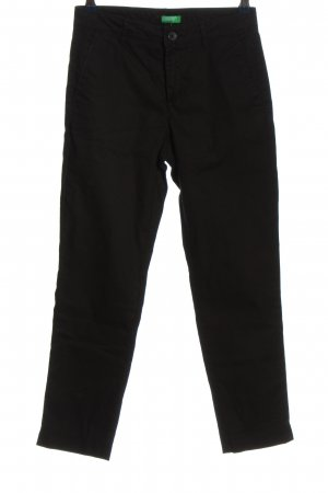 United Colors of Benetton 7/8-Hose schwarz Casual-Look