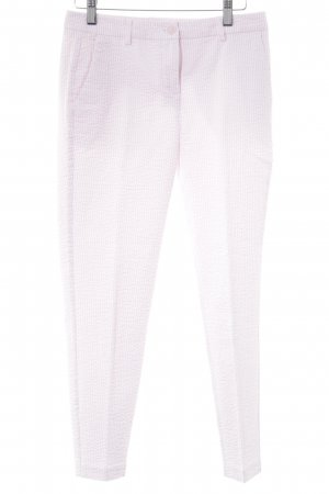 United Colors of Benetton 7/8-Hose rosé-weiß Streifenmuster Casual-Look