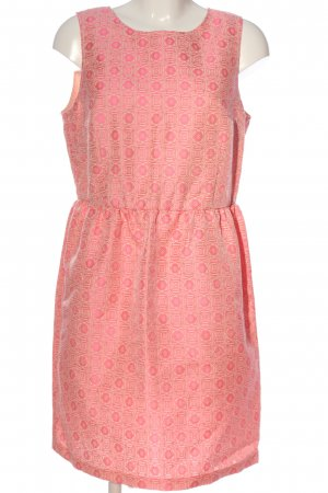 United Colors of Benetton Blusenkleid pink-wollweiß Allover-Druck Casual-Look