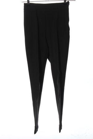 United Colors of Benetton Spodnie garniturowe czarny W stylu biznesowym