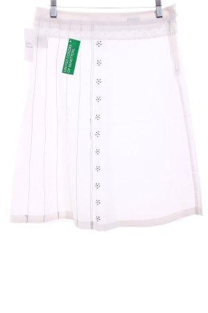 United Colors of Benetton Jupe asymétrique blanc style décontracté