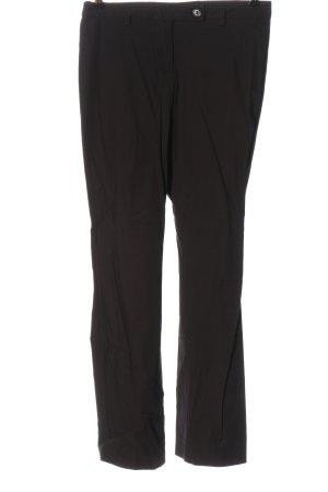 United Colors of Benetton Luźne spodnie czarny W stylu biznesowym