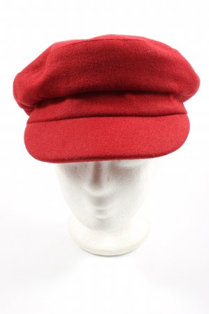 United Colors of Benetton Baker's Boy Cap red casual look
