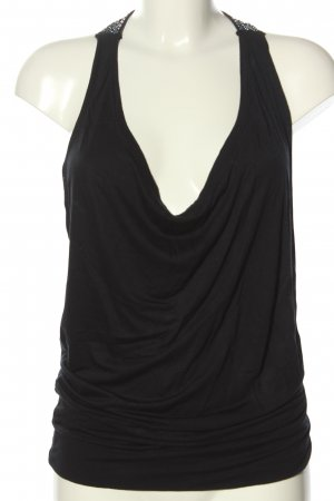 United Colors of Benetton Basic Top schwarz Casual-Look