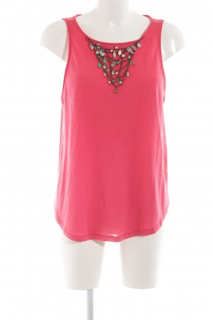 United Colors of Benetton Top basic rosa stile casual