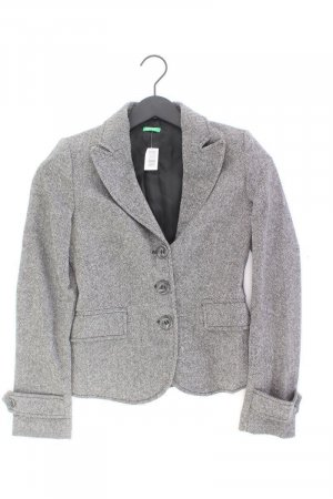 United Colors of Benetton Blazer grau Größe 38