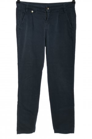 United Colors of Benetton Pleated Trousers blue casual look
