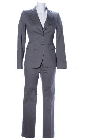 United Colors of Benetton Traje de negocios gris claro estampado a rayas