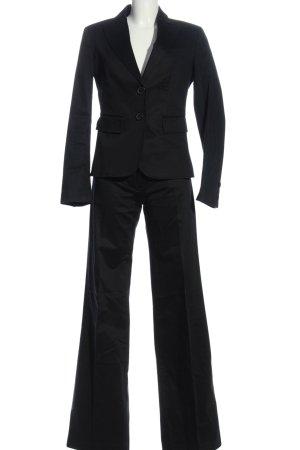 United Colors of Benetton Traje de negocios negro estilo «business»