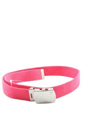 United Colors of Benetton Pasek materiałowy różowy W stylu casual