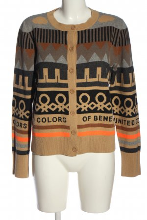 United Colors of Benetton Cardigan Allover-Druck Casual-Look