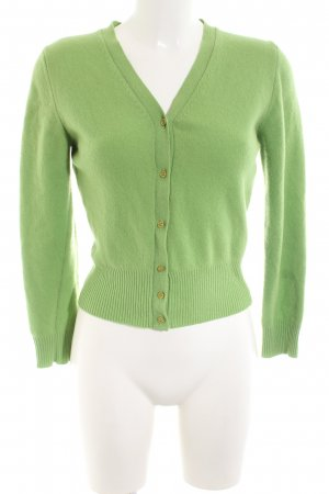 United Colors of Benetton Cardigan grün Casual-Look