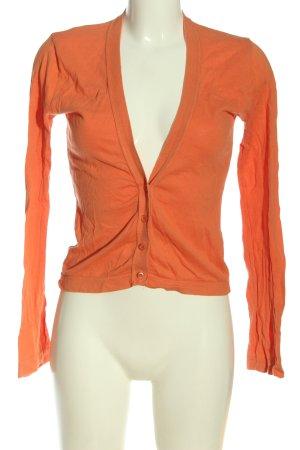 United Colors of Benetton Kardigan jasny pomarańczowy W stylu casual