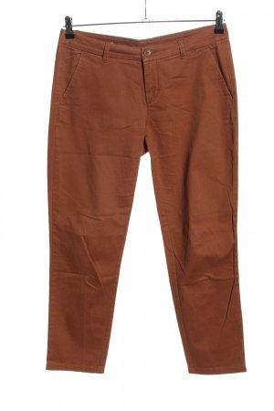 United Colors of Benetton Chino bruin casual uitstraling
