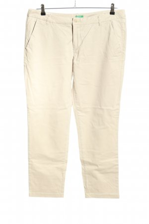 United Colors of Benetton Chinos natural white casual look
