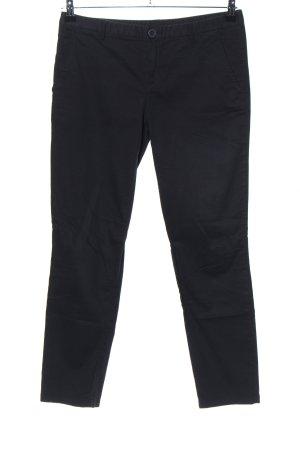 United Colors of Benetton Pantalon chinos noir style décontracté