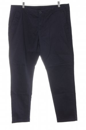 United Colors of Benetton Chinohose dunkelblau Business-Look
