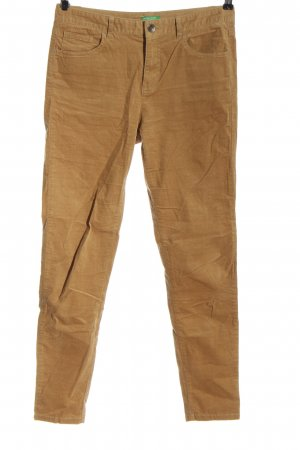 United Colors of Benetton Corduroy Trousers nude casual look