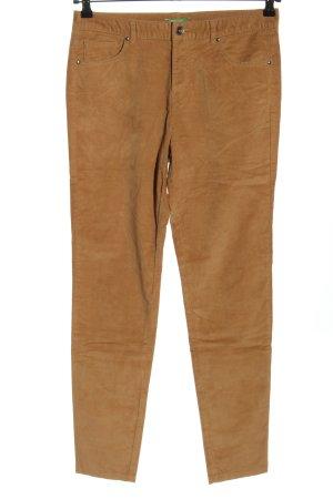 United Colors of Benetton Corduroy broek bruin casual uitstraling