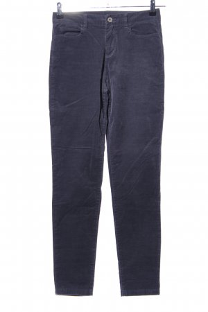United Colors of Benetton Cordhose blau Casual-Look