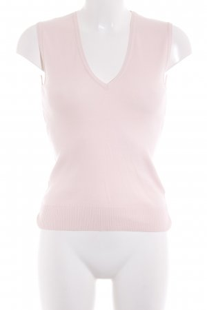 United Colors of Benetton Feinstrickpullunder rosa Casual-Look