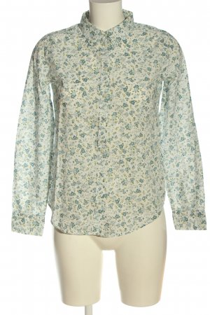 United Colors of Benetton Hemd-Bluse Allover-Druck Casual-Look