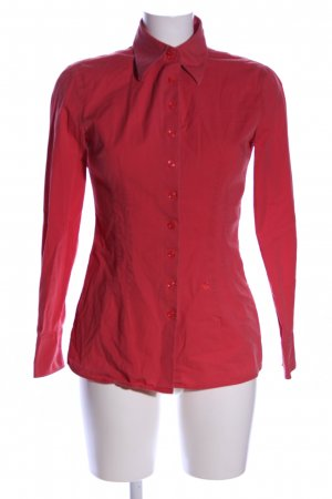 United Colors of Benetton Hemd-Bluse rot Business-Look