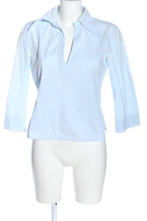 United Colors of Benetton Hemd-Bluse blau Business-Look