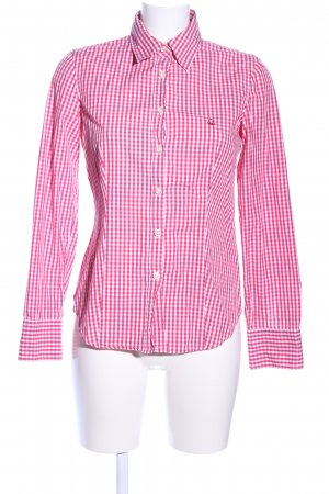 United Colors of Benetton Hemd-Bluse rot-weiß Karomuster Casual-Look