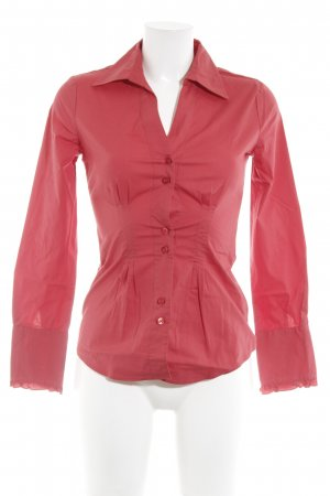 United Colors of Benetton Hemd-Bluse rot Casual-Look