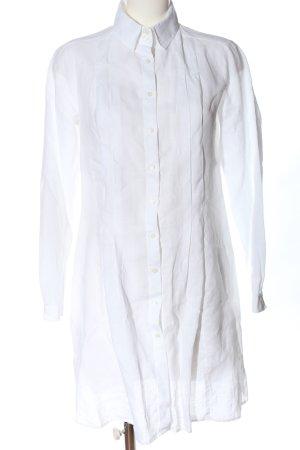 United Colors of Benetton Abito blusa camicia bianco stile professionale