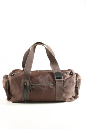 United Colors of Benetton Henkeltasche braun Casual-Look