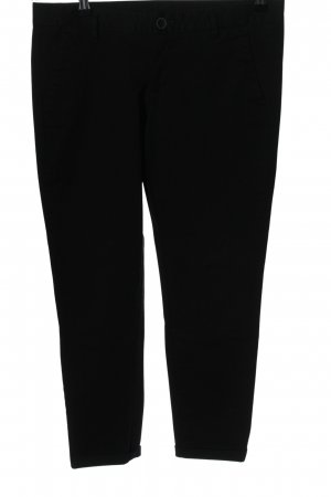 United Colors of Benetton High-Waist Hose schwarz Casual-Look