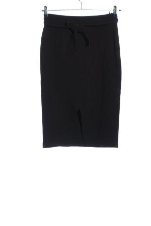 United Colors of Benetton Falda de talle alto negro estilo «business»