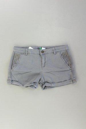 United Colors of Benetton Hotpants Größe L grau aus Baumwolle