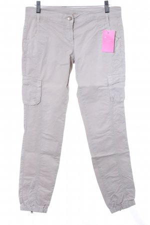 United Colors of Benetton Low-Rise Trousers beige simple style