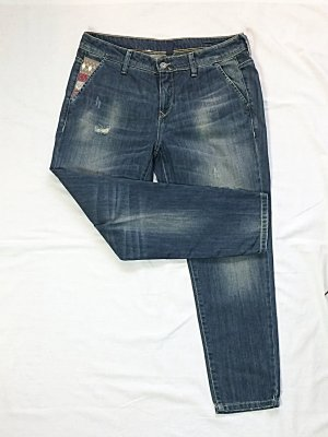United Colors of Benetton Jeans Slim Distressed Gr. 40 (Jeansgröße 31)