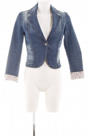 United Colors of Benetton Jeansblazer Blumenmuster Casual-Look
