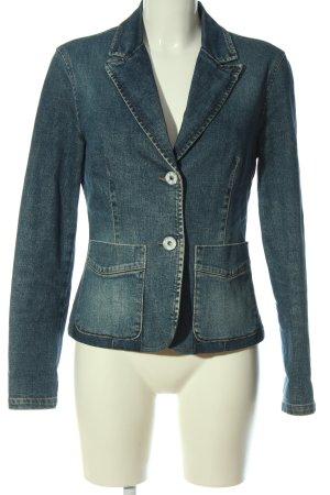 United Colors of Benetton Marynarka jeansowa niebieski W stylu casual