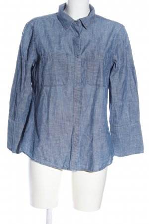 United Colors of Benetton Jeanshemd blau Casual-Look