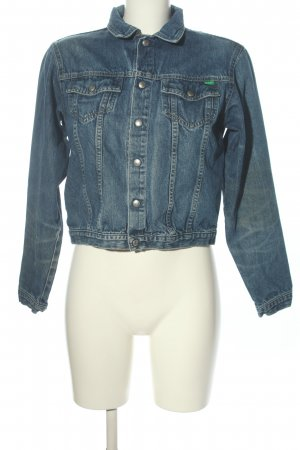 United Colors of Benetton Jeansjacke blau Casual-Look