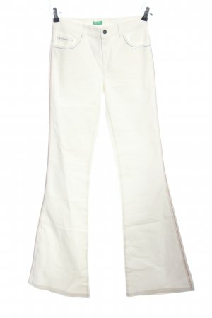 United Colors of Benetton Spijker flares wolwit casual uitstraling