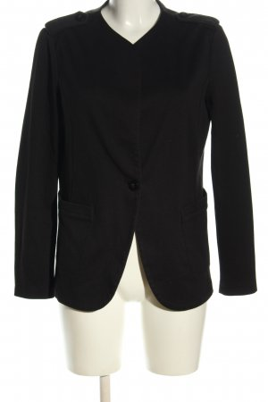 United Colors of Benetton Jerseyblazer schwarz Business-Look