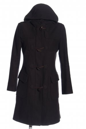 United Colors of Benetton Hooded Coat black casual look
