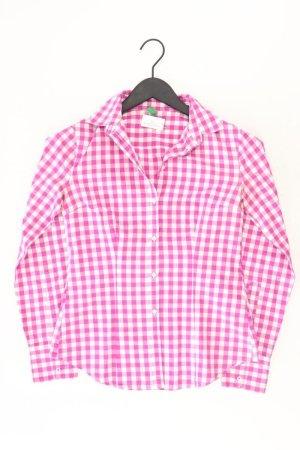 United Colors of Benetton Geruite blouse lichtroze-roze-roze-neonroos Katoen