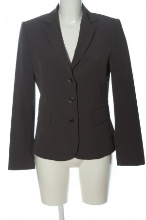 United Colors of Benetton Kurz-Blazer hellgrau Business-Look